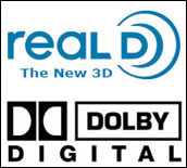 Real D and Dolby Digital