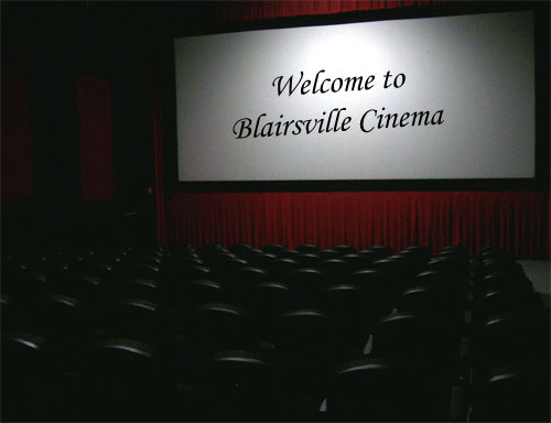 Welcome to Blairsville Cinema